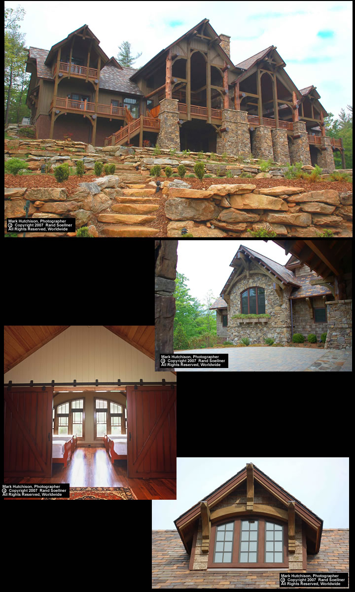 Lodge house 2 eagle mountain aerie lake toxaway for Mountain lodge architecture