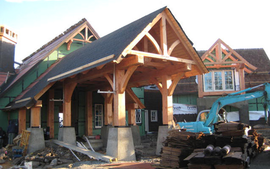 Charming luxury timber frame house plans 7 mountain home for Mountain home architects