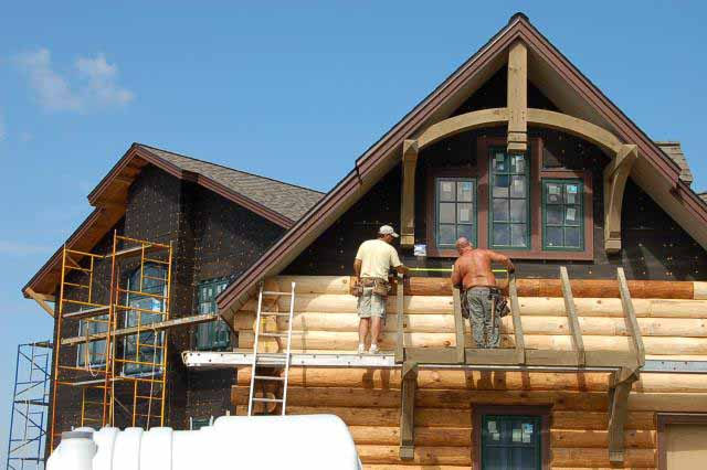 Log Home Architects 9 | Mountain Home Architects, Timber Frame ...