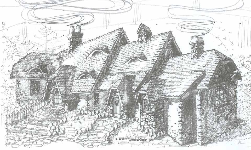 Old english cottage plans home decor and interior design for English for architects