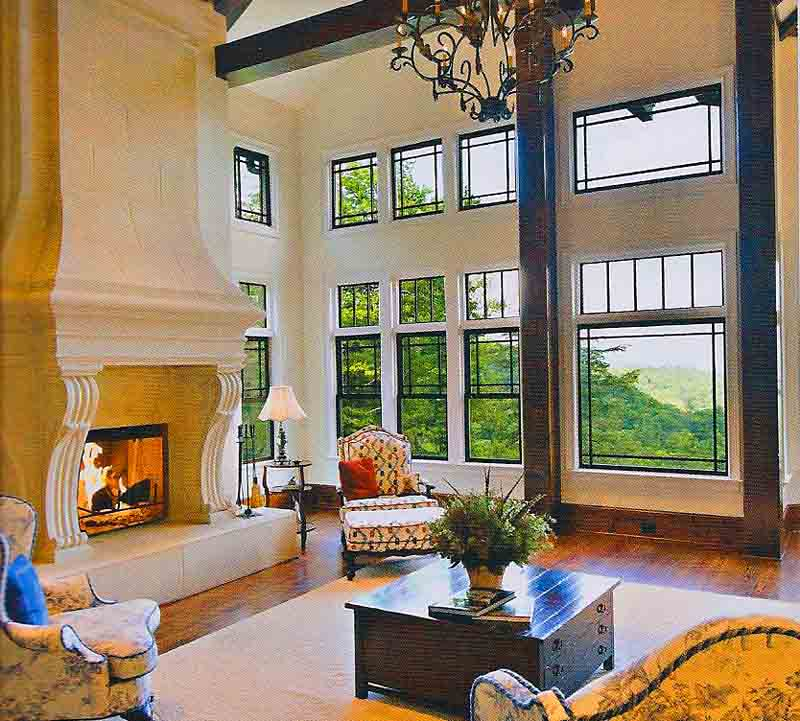 Small house plans with big windows for Large windows for homes