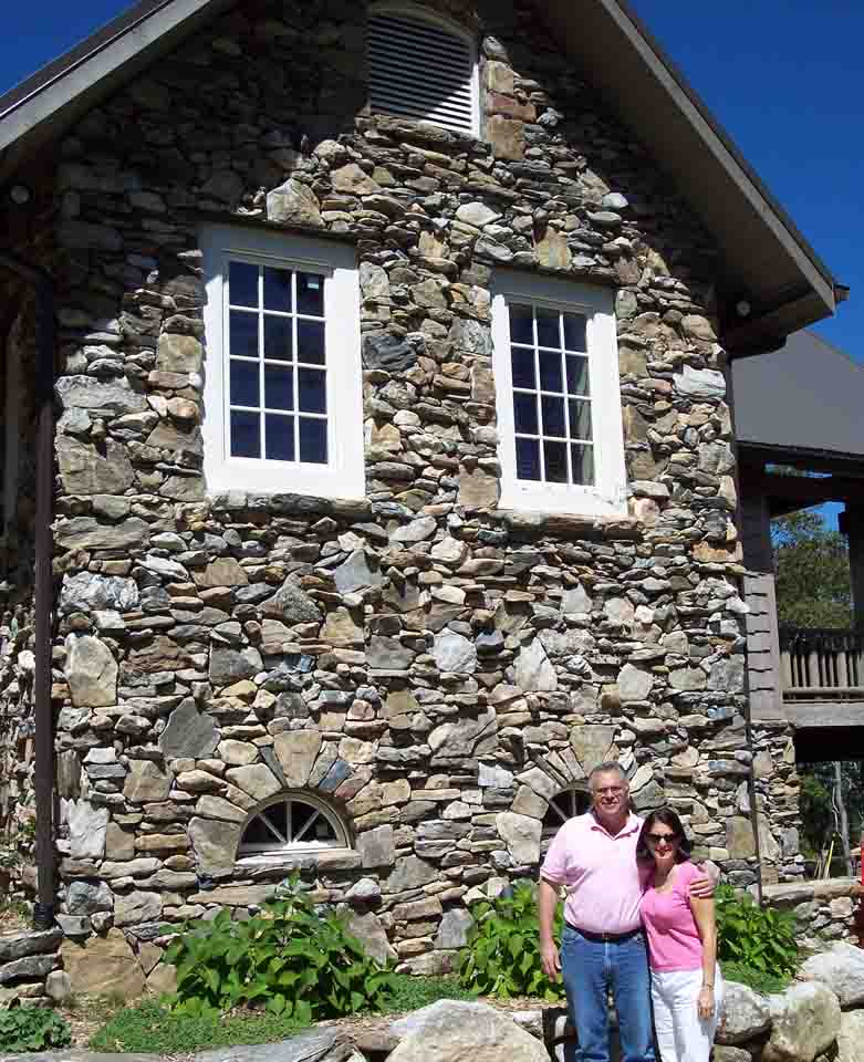 Native drystack stonework on one of Rand Soellner's projects.  (C)Copyright 2003-2010 Rand Soellner, All Rights Reserved Worldwide.