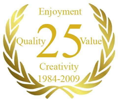 25 years of design service to a distinctive clientele
