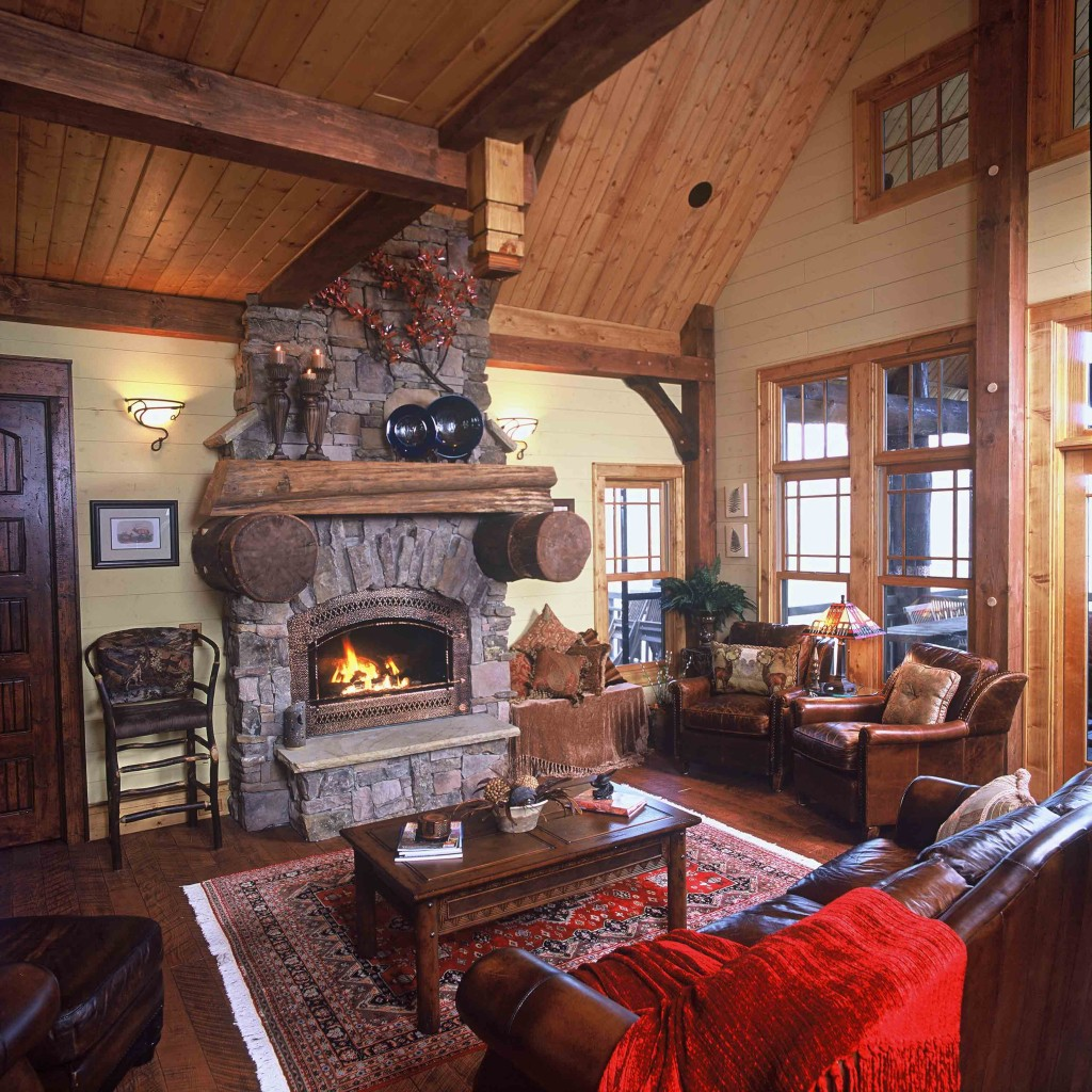 Mountain home architect 1 mountain home architects for Log home interior designs