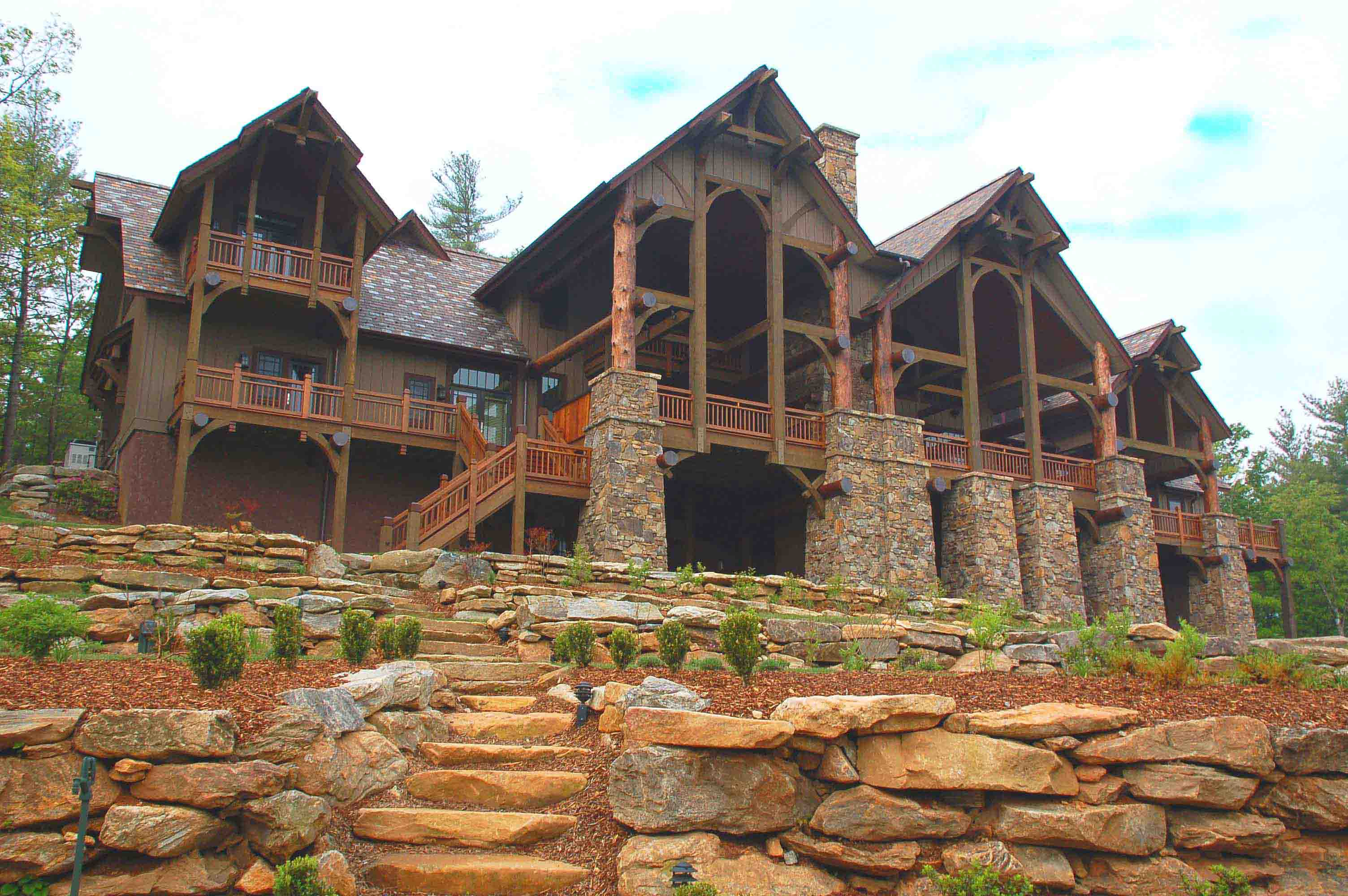 Atlanta home architects timber frame home architects for Mountain home architects