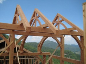 timber frame architects, mountain house