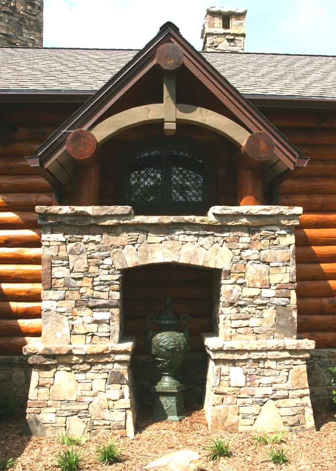 log house architect