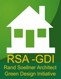 Rand Soellner Architect established a Green Design Initiative to help spread the Green Home Architects knowledge across America.