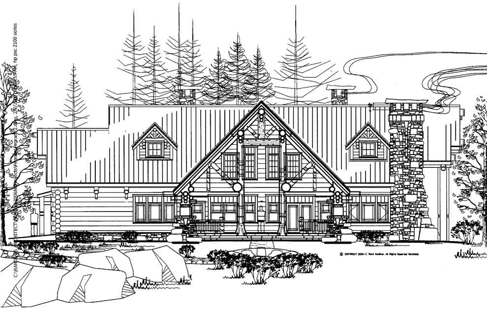11 cashiers cabin log cabin architect mountain home for Log home architects