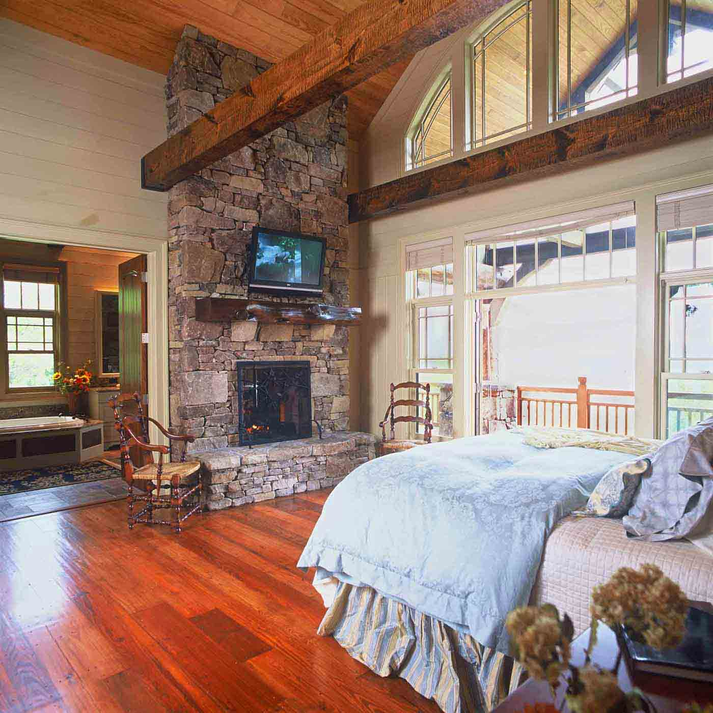 Open plan home design mountain home architects timber frame architect custom homes Open plan house