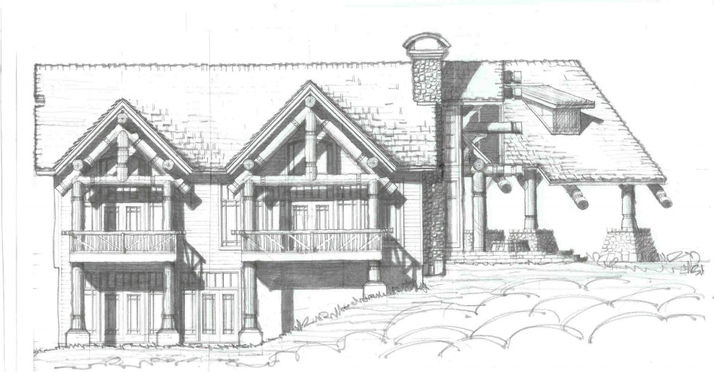 Adirondack architect designs rustic luxury house