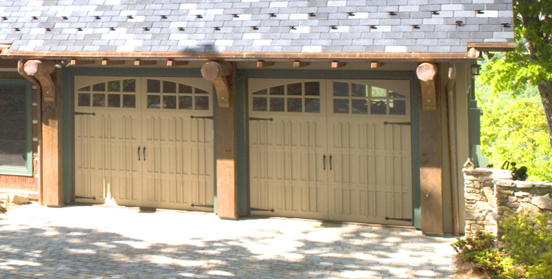 Just one example of the various decorative design treatments employed by Rand Soellner one of his projects.  (C)Copyright 2005-2010 Rand Soellner, All Rights Reserved Worldwide.  Garage architect design example.