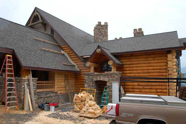 Log cabins price implications 8 mountain home architects Log cabin architects