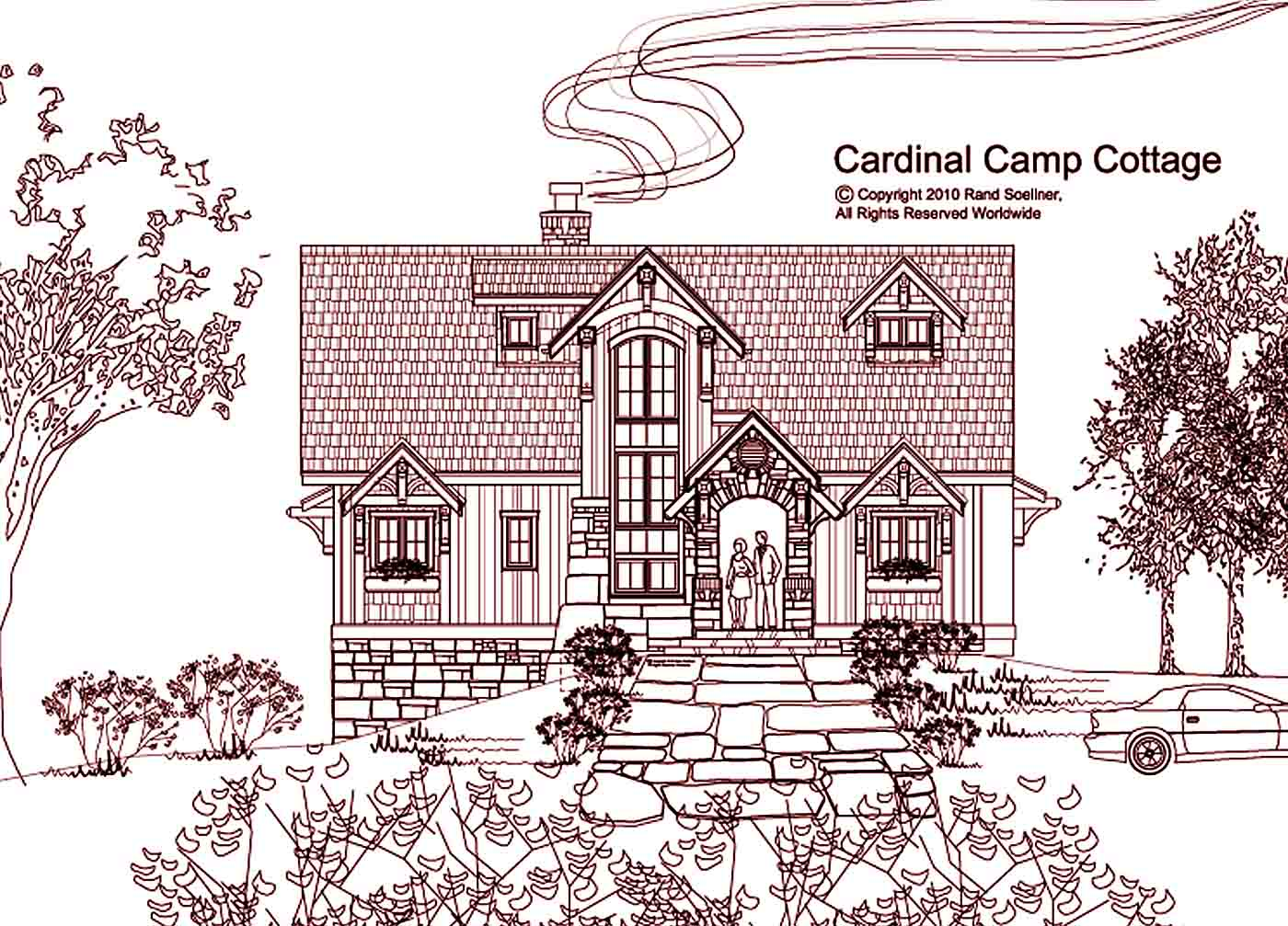 Small luxury residence designs cardinal camp cottages Cottages of camp creek