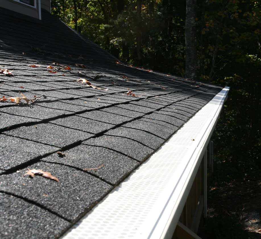 Installing gutter guards for your house mountain home architects installing gutter guards solutioingenieria Image collections