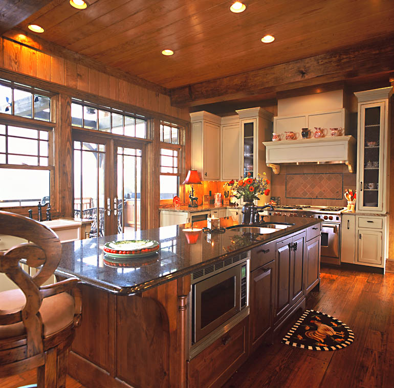 Luxury Home Kitchens: Mountain Home Architects, Timber