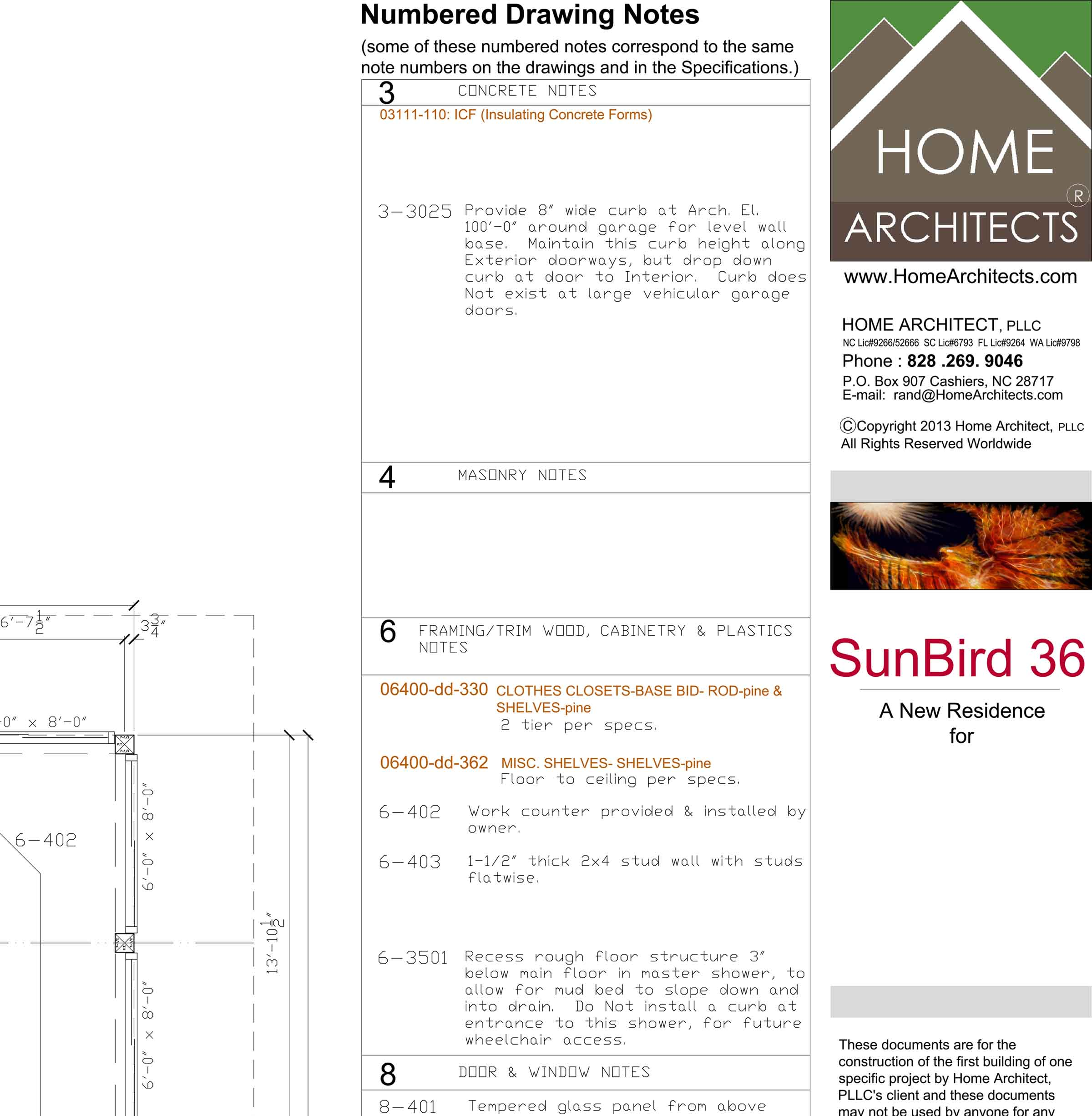 Specnote System For House Design Mountain Home