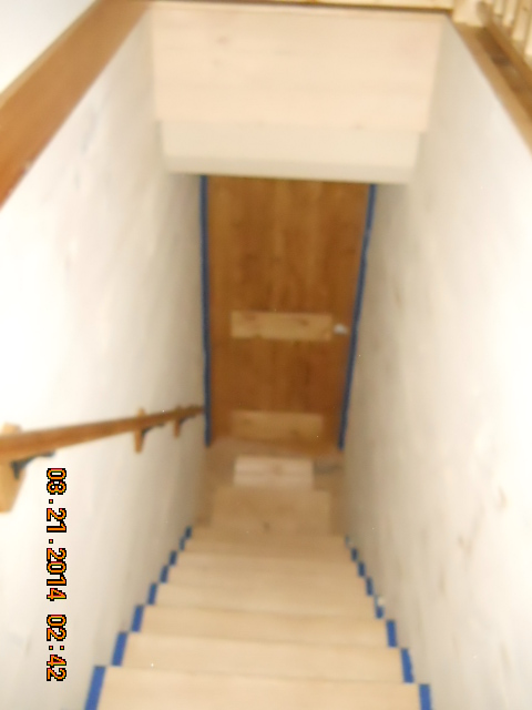 stair addition renovation & Stairway Addition u2013 Renovation | Mountain Home Architects Timber ...