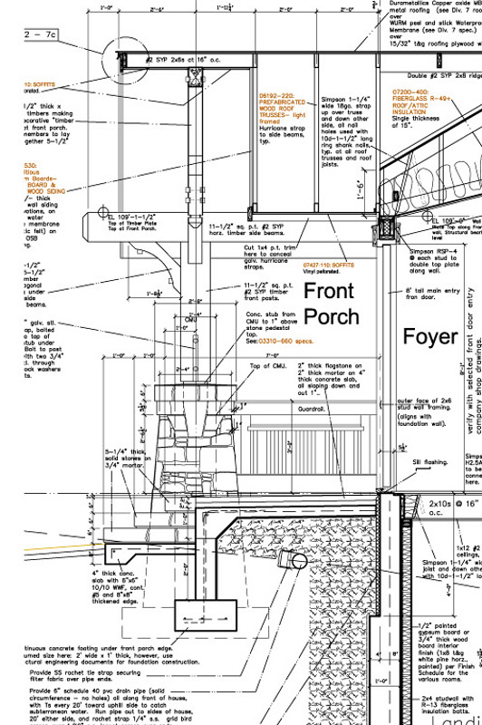 Well Detailed Construction Documents Mountain Home