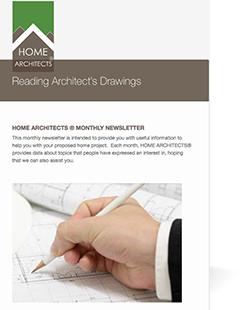 Newsletter of Home Architects ®