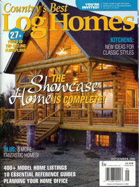 best log homes
