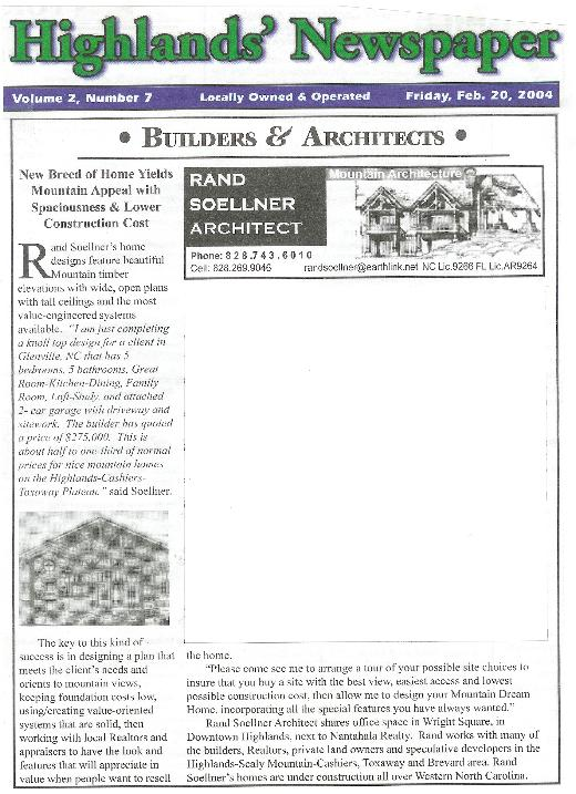 Highlands_Newspaper_Mountain_Builders_and_Architects_Highlands_North_Carolina