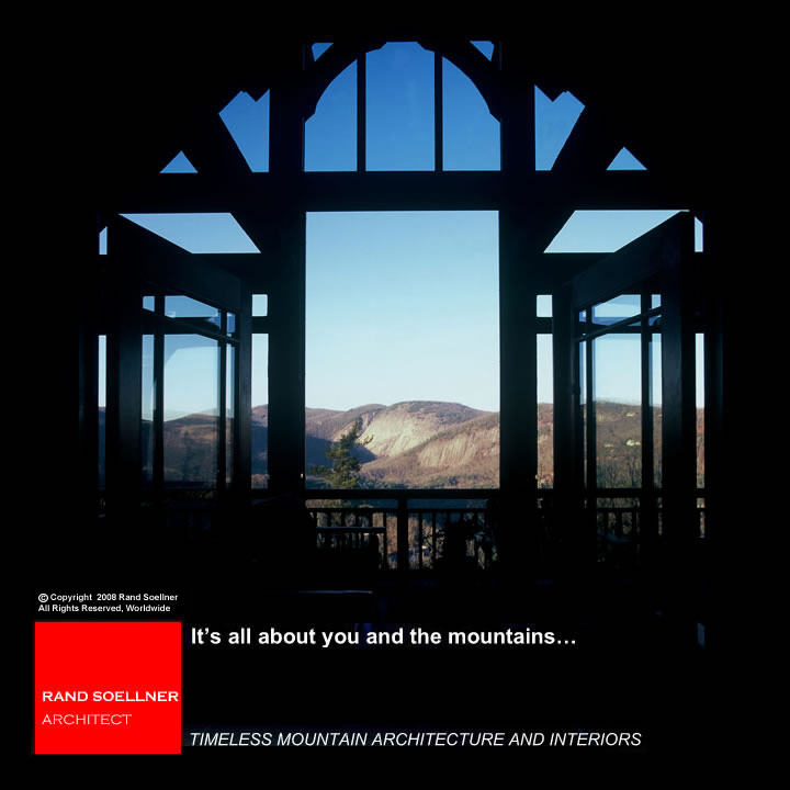 mountain lodge architects