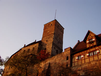 A castle in Nuernberg