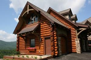 mountain dream log mansions