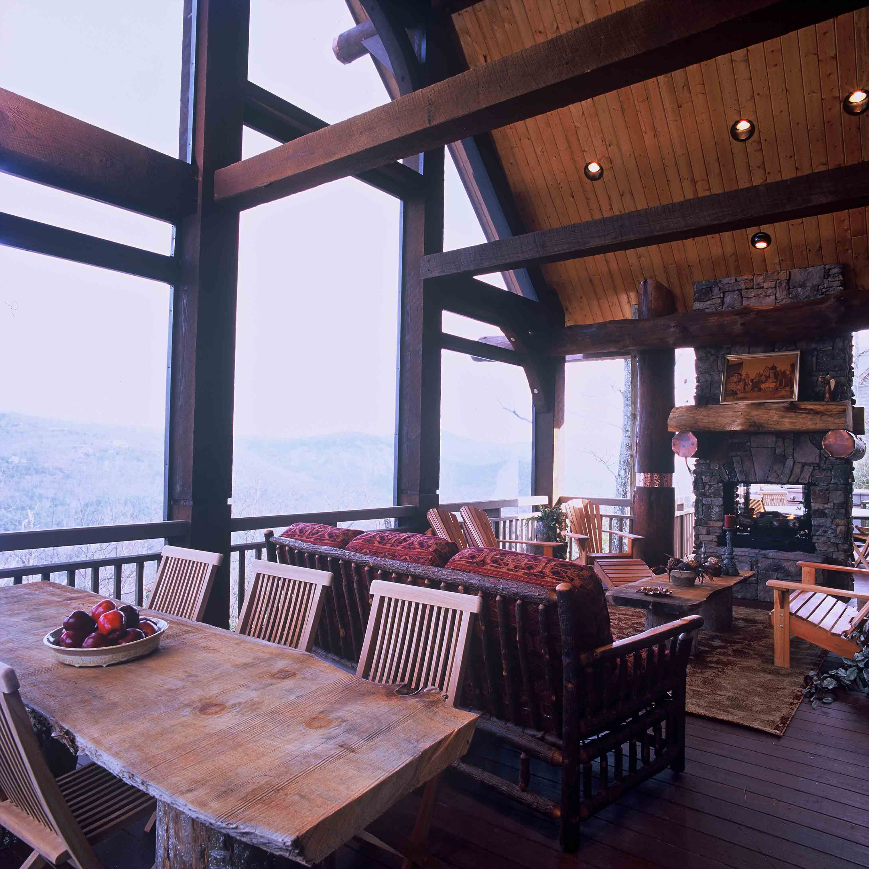 Timber Outdoor Living: Sustainable Design Approach By Shading Glass With Outdoor