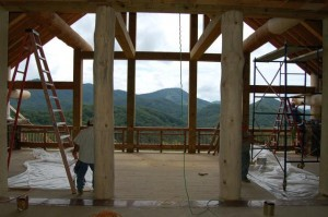 We are custom home architects designing your luxury home around your lifestyle and your fabulous views, like this Mountain Retreat home design of ours, now under construction in Sevier County, TN, USA.
