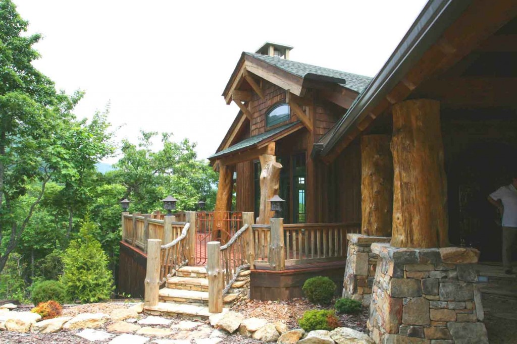 mountain lodge architect