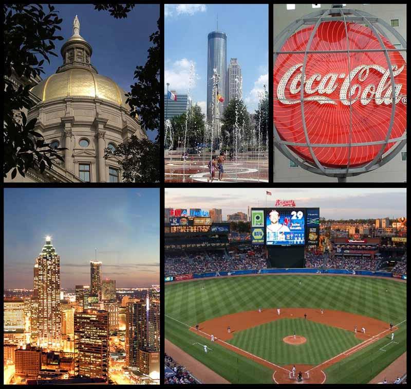Atlanta montage courtesy of Wikipedia