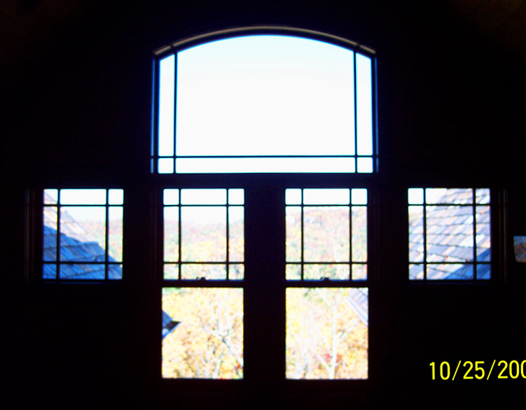 view from one of Rand Soellner's home design projects - 2nd floor Den.  Custom house architects always try to create imagible spaces. (C)Copyright 2006-2010 Rand Soellner, All Rights Reserved Worldwide.