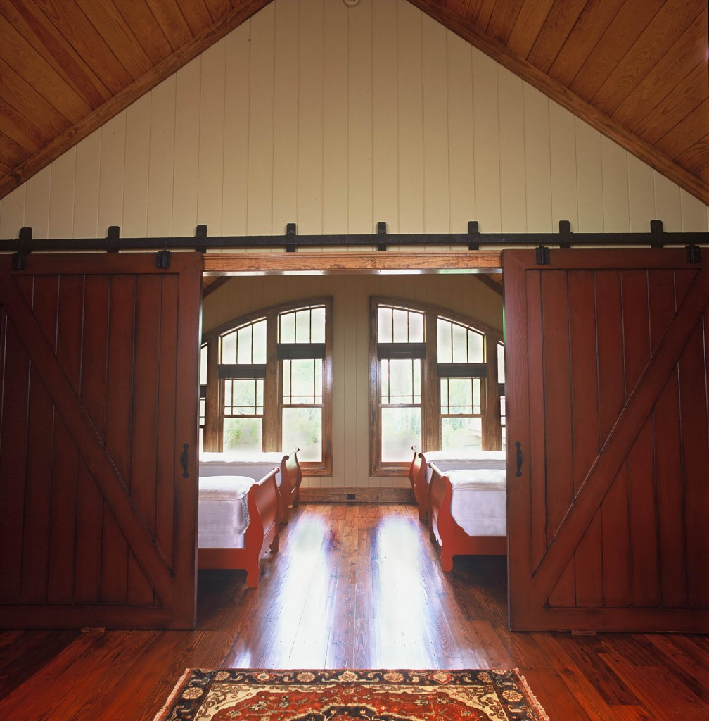 bunkrooms and barn doors