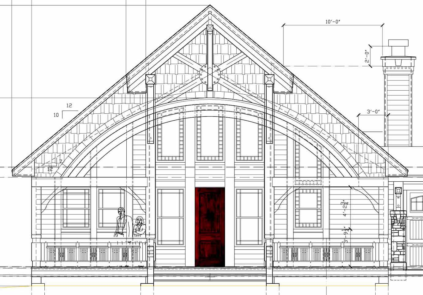 Economical Ways To Build A House Mountain Home Architects Timber Frame Architect Custom Homes
