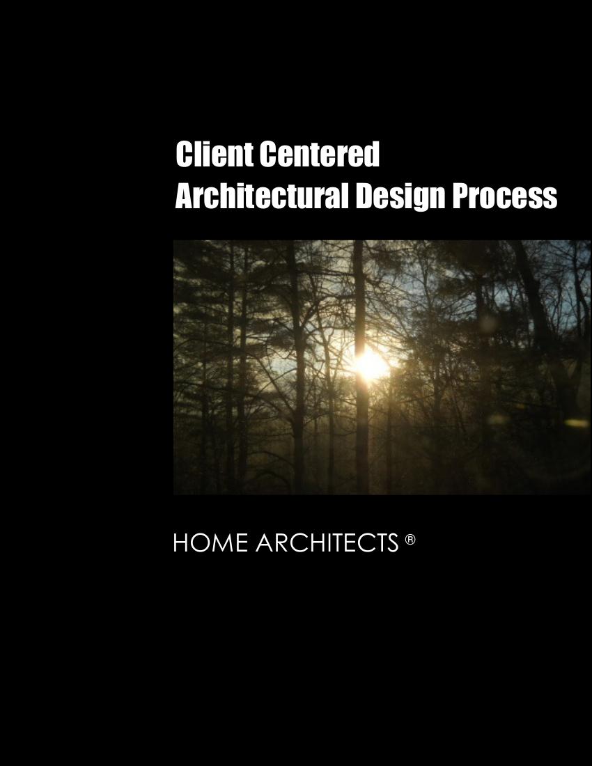 ClientCenteredArchitecturalDesignProcess