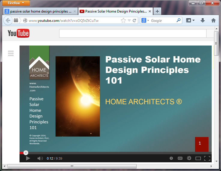 Passive sollar home design principles 101