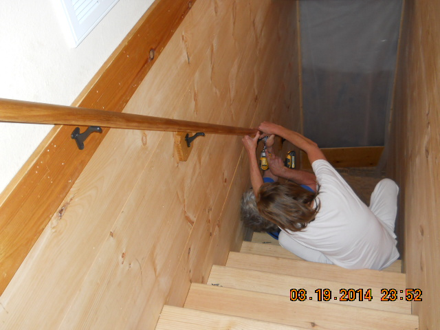 stair addition renovation