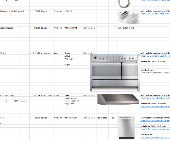 appliance selection service