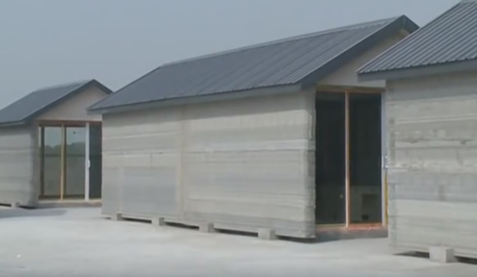 3D printing entire house