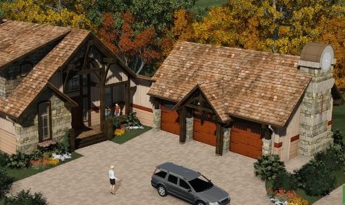 mountain house design