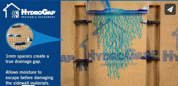 drainable housewrap